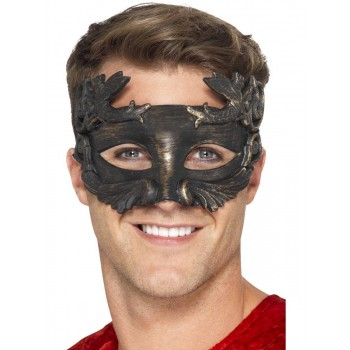 Warrior God Metallic Masquerade Eyemask Fancy Dress Accessory