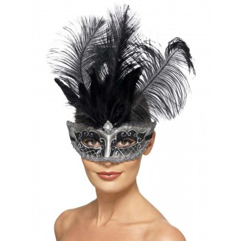 Venetian Colombina Eyemask Fancy Dress Accessory