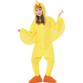 Childs All In One Duck Fancy Dress Costume