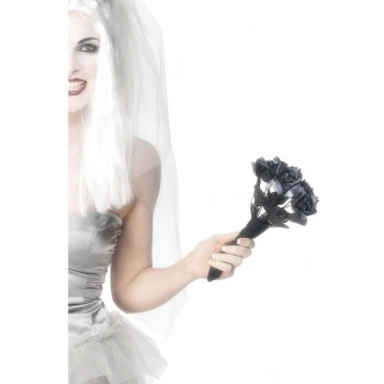 Corpse Bride Bouquet - Fancy Dress Ladies (Halloween)