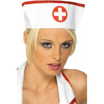 Nurse'S Hat Best Quality - Fancy Dress Ladies (Doctors/Nurses)