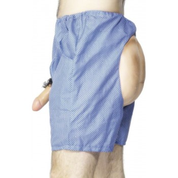 Bum And Willy Shorts - Fancy Dress Mens (Hen & Stag)