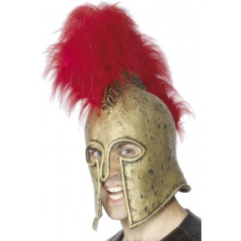 Roman Armour Helmet - Fancy Dress Mens (Medieval)
