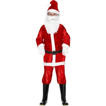 Mini Santa Fancy Dress Costume Boys (Christmas)