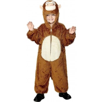Monkey Costume Age 7-9 Fancy Dress Costume (Animals)