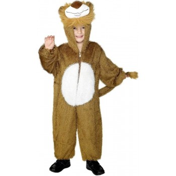 Lion Costume Age 7-9 Fancy Dress Costume (Animals)
