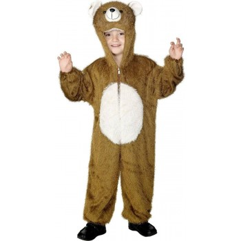 Bear Costume Age 7-9 Fancy Dress Costume (Animals)