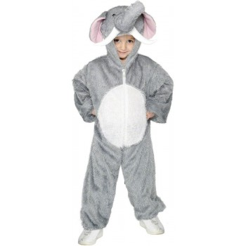 Elephant Costume Age 7-9 Fancy Dress Costume (Animals)