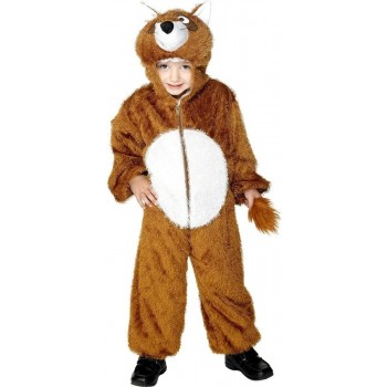 Fox Costume Age 7-9 Fancy Dress Costume (Animals)