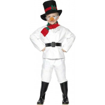 Snowman Fancy Dress Costume Boys (Christmas)