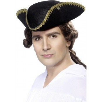 Dick Turpin Tricorn Hat - Fancy Dress Mens
