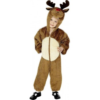 Reindeer Fancy Dress Costume Age 4-6 Boys (Christmas)
