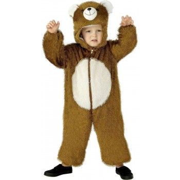 Bear Costume Age 4-6 Fancy Dress Costume Kids Age  (Animals)