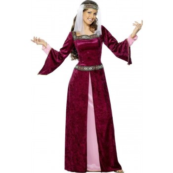 Maid Marion Fancy Dress Costume Ladies (Medieval)