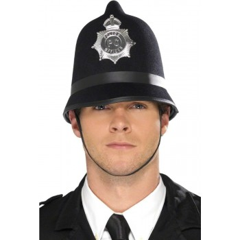 Police Hat Fancy Dress Mens (Cops/Robbers)