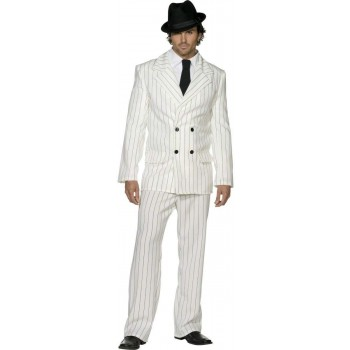Fever Gangster Fancy Dress Costume Mens (1920S , Sexy)