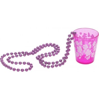 Shot Glass On Beads - Fancy Dress Ladies (Hen & Stag)