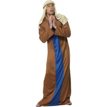 Joseph Fancy Dress Costume Mens Size 38-40 S (Christmas)