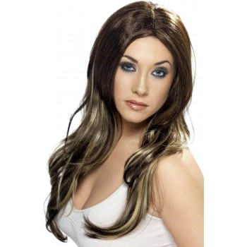 Temptress Wig - Fancy Dress Ladies - Blonde
