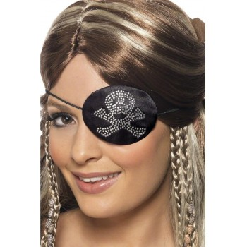 Pirates Eyepatch - Fancy Dress Ladies (Pirates)