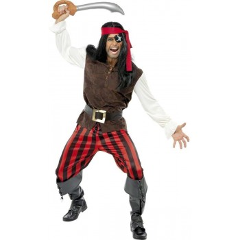 Pirate Ship Mate Fancy Dress Costume Mens (Pirates)
