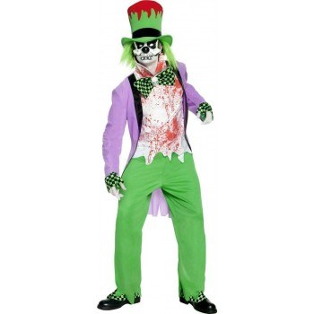 Bad Hatter Fancy Dress Costume Mens
