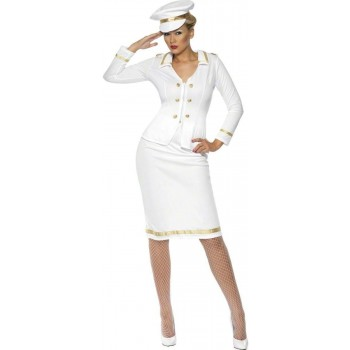 Officer'S Mate Fancy Dress Costume Ladies (Army , Sailor)