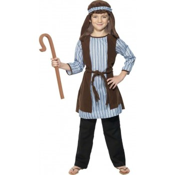 Shepherd Costume-Large Fancy Dress Costume Boys (Christmas)