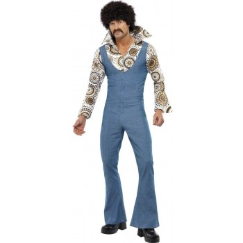 Groovy Dancer Fancy Dress Costume Mens (1970S)