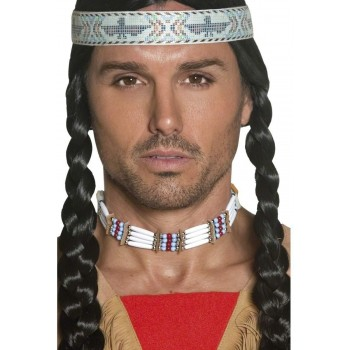 Authentic Western Native American Choker - Fancy Dress (Cowboys/Native Americans)