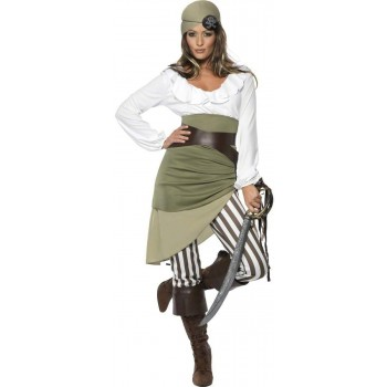 Shipmate Sweetie Fancy Dress Costume Ladies (Pirates)