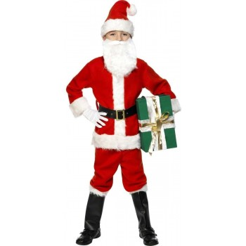 Santa Fancy Dress Costume Boys (Christmas)