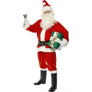Santa Fancy Dress Costume Mens (Christmas)