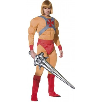 He Man Prince Adam Fancy Dress Costume(1980S, Cartoon, Film, Heroes)