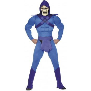 Skeletor Fancy Dress Costume(1980S , Cartoon , Halloween , Heroes , Tv)