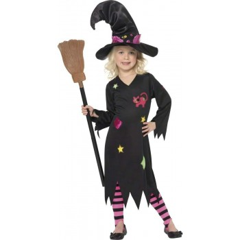 Cinder Witch Fancy Dress Costume (Halloween)