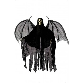 Hanging Skeleton Angel Decoration - Fancy Dress (Halloween)