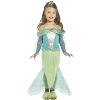 Mermaid Princess Fancy Dress Costume Girls (Royalty)