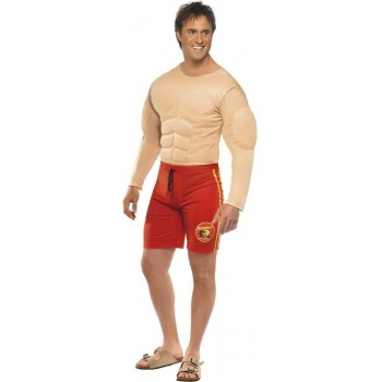 Baywatch Lifeguard Costume Mens Size 38-40 S (Sexy , Tv)