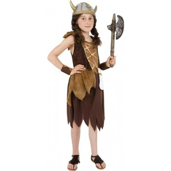 Viking Girl Fancy Dress Costume Girls (Viking)