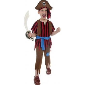 Pirate Boy Fancy Dress Costume Boys (Pirates)