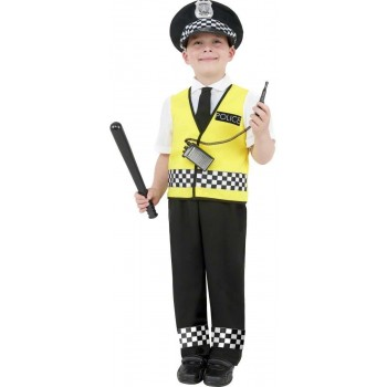 Police Boy Fancy Dress Costume Boys (Cops/Robbers)