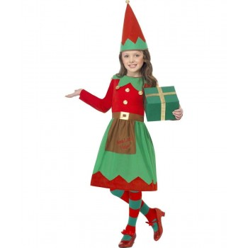 Santa'S Little Helper Fancy Dress Costume