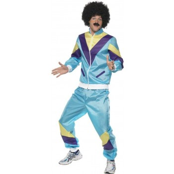 80'S HEIGHT OF FASHION SHELL SUIT FANCY DRESS COSTUME (1980S)
