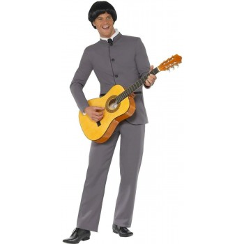 Fab Four Iconic Fancy Dress Costume Mens (1960S)