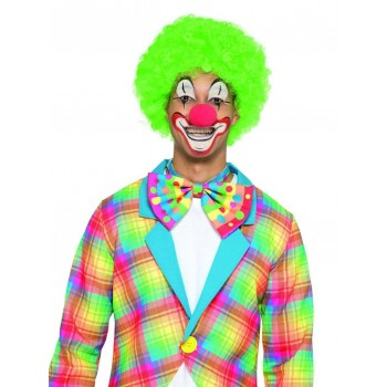 Big Top Clown Bowtie Fancy Dress Accessory