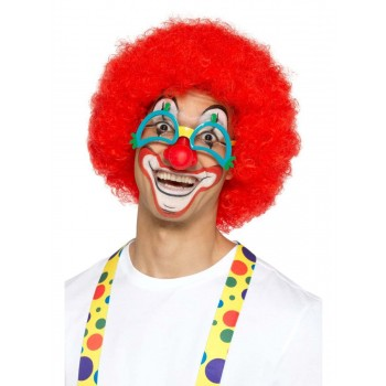 Comedy Clown Specs Fancy Dress Accessory