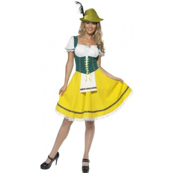 Oktoberfest Fancy Dress Costume Ladies (Cultures)