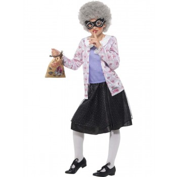 David Walliams Deluxe Gangsta Granny Costume Fancy Dress