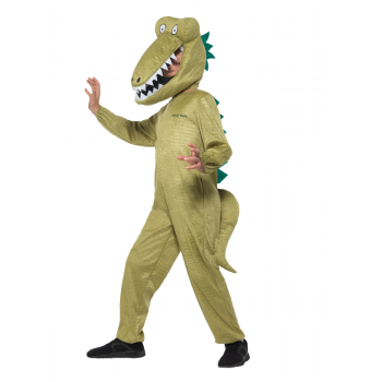 Roald Dahl Deluxe Enormous Crocodile Costume Fancy Dress